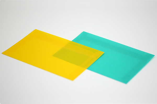 Translucent Colored Envelope